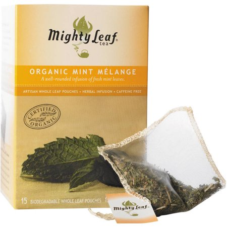 Mighty Leaf Tea Thé Melange menthe bio, 15 count