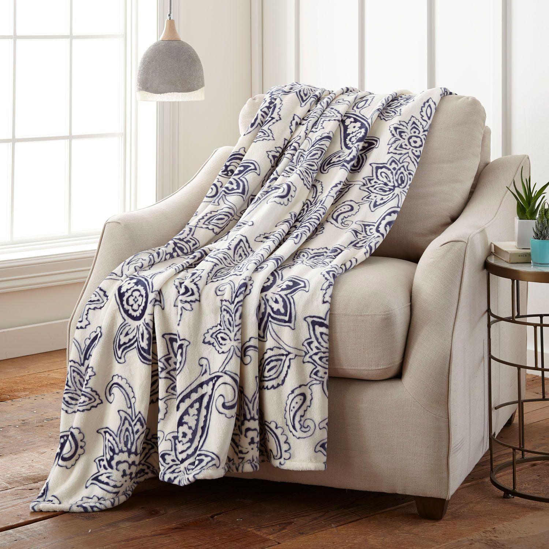 "Fraiche Maison luxuriously soft and exceptionally cozy velvet plush warm Bethany Throw,(50""x70"")"