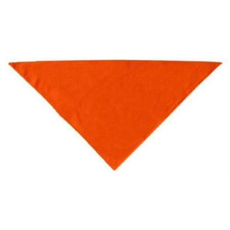 Plain Bandana Orange Large - Large Bandanas