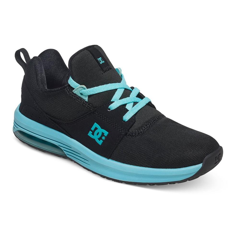 DC Women's Heathrow IA Sneakers Black Canvas Rubber 5 B
