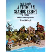 Cut and Assemble Victorian Seaside Resort