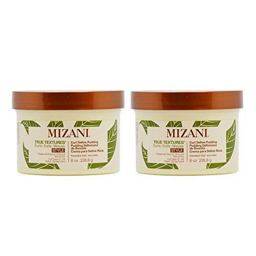 "Mizani True Textures Curl Define Pudding 8oz / 250ml ""Pack of 2"""