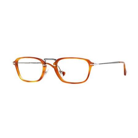 01a7f75b4211f Persol PO3079V-96-52 Rectangular Men s Light Havana Frame Genuine  Eyeglasses NWT - Walmart.com