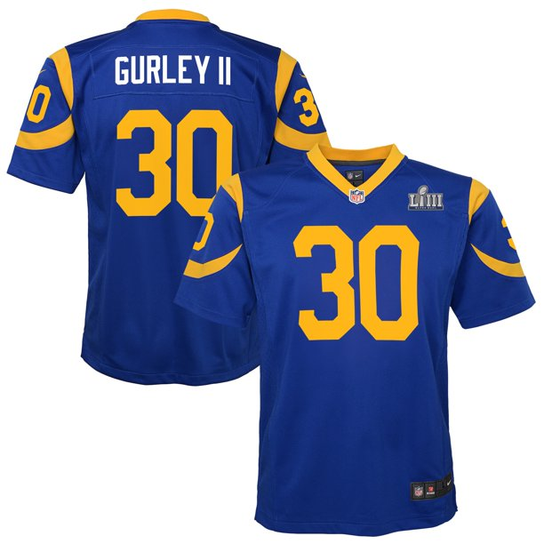 Todd Gurley II Los Angeles Rams Nike Youth Super Bowl LIII Bound Game Jersey - Royal