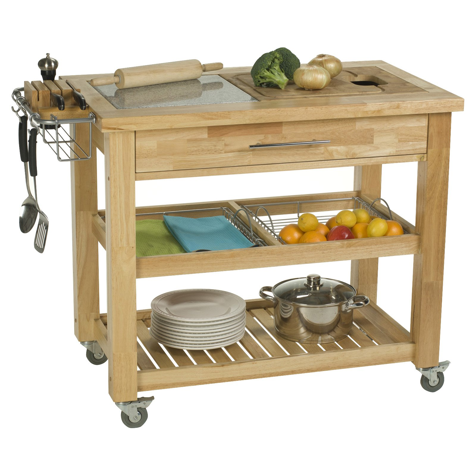 Chris & Chris Pro Chef 24 x 40 Food Prep Station - Natural ... on kitchen shelving units, kitchen cabinet, kitchen furniture, kitchen lunch, kitchen prep, kitchen buffet, kitchen wash sink, kitchen islands, kitchen cricut, kitchen utility shelf, kitchen hutch, kitchen storage, kitchen tarp, kitchen stand, kitchen camp, kitchen table, kitchen trolley, kitchen catalogues, kitchen pantry, kitchen rack,