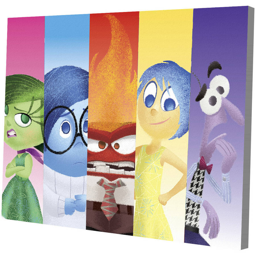 "Disney Pixar Inside Out LED Wall Art- 15.75"" x 11.50"""