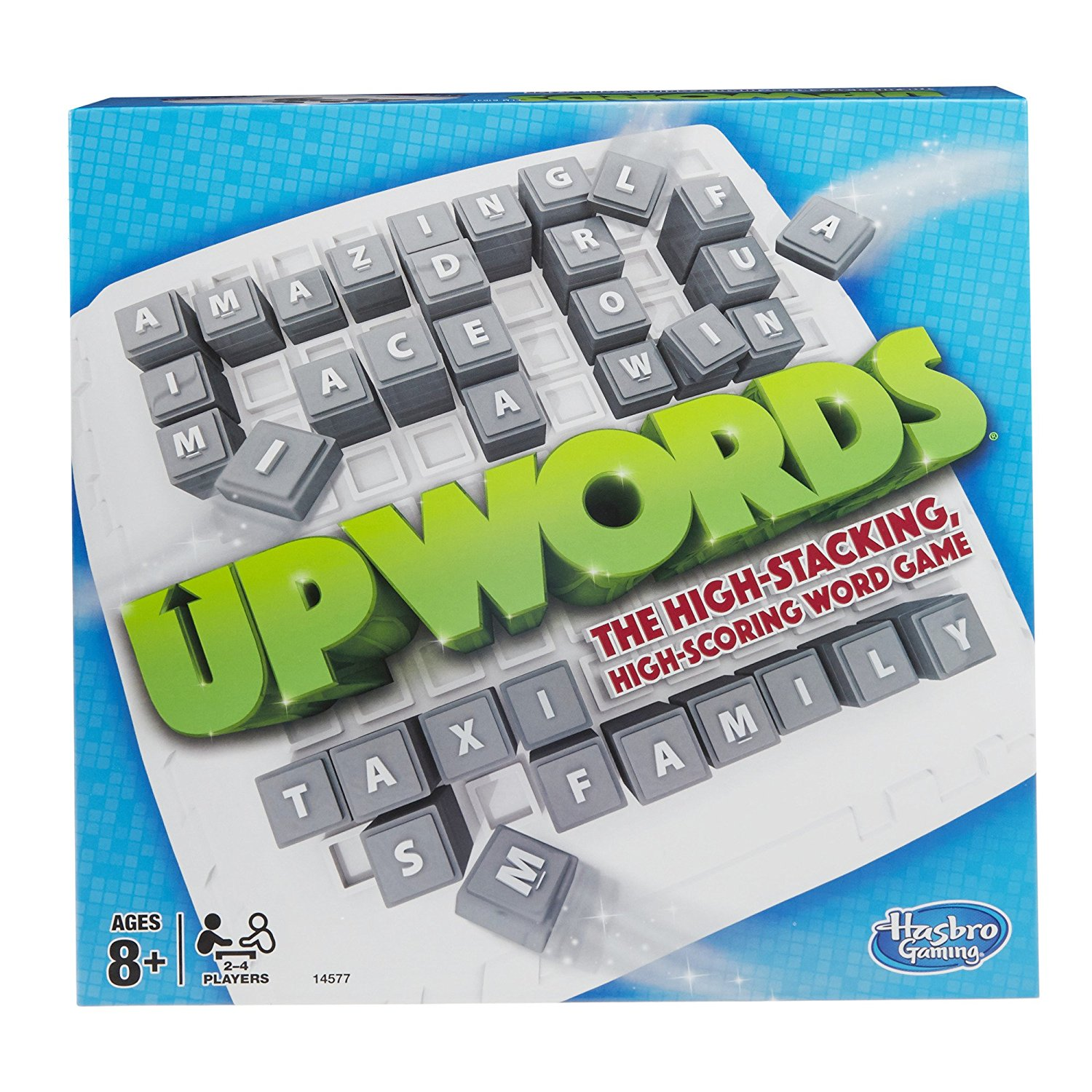 Upwords Game, High-stacking, high-scoring word game By Hasbro by