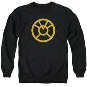 Green Lantern Orange Emblem Mens Crewneck Sweatshirt