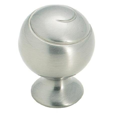 Amerock A09338 2 G10 Swirlz Knob, Satin Nickel - 1.75 in.