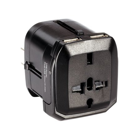 Dual Usb International Power Adapter By Radioshack