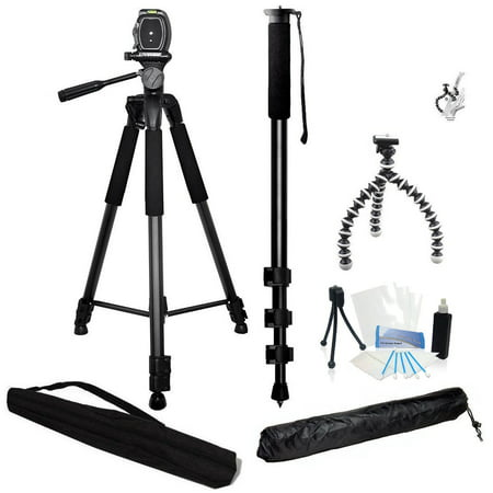 3 Piece Best Value Tripod Package for Nikon D3300,