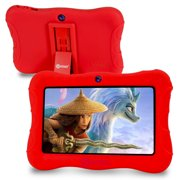 Kids Tablet, Android 10, 7 inch, 2GB RAM 32GB Storage, Learning Tablet, with Wi-Fi Bluetooth, Parental Control, Kid-Proof Protective Case, Tablets for Kids, Contixo V9-3-32-Red