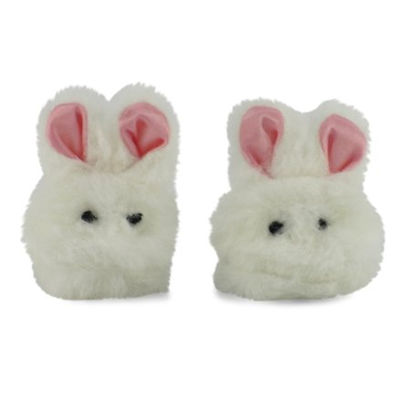 18 Inch Doll Clothes/clothing Bunny Slippers Fits American Girl Dolls (American Girl Doll Pets Bunny)