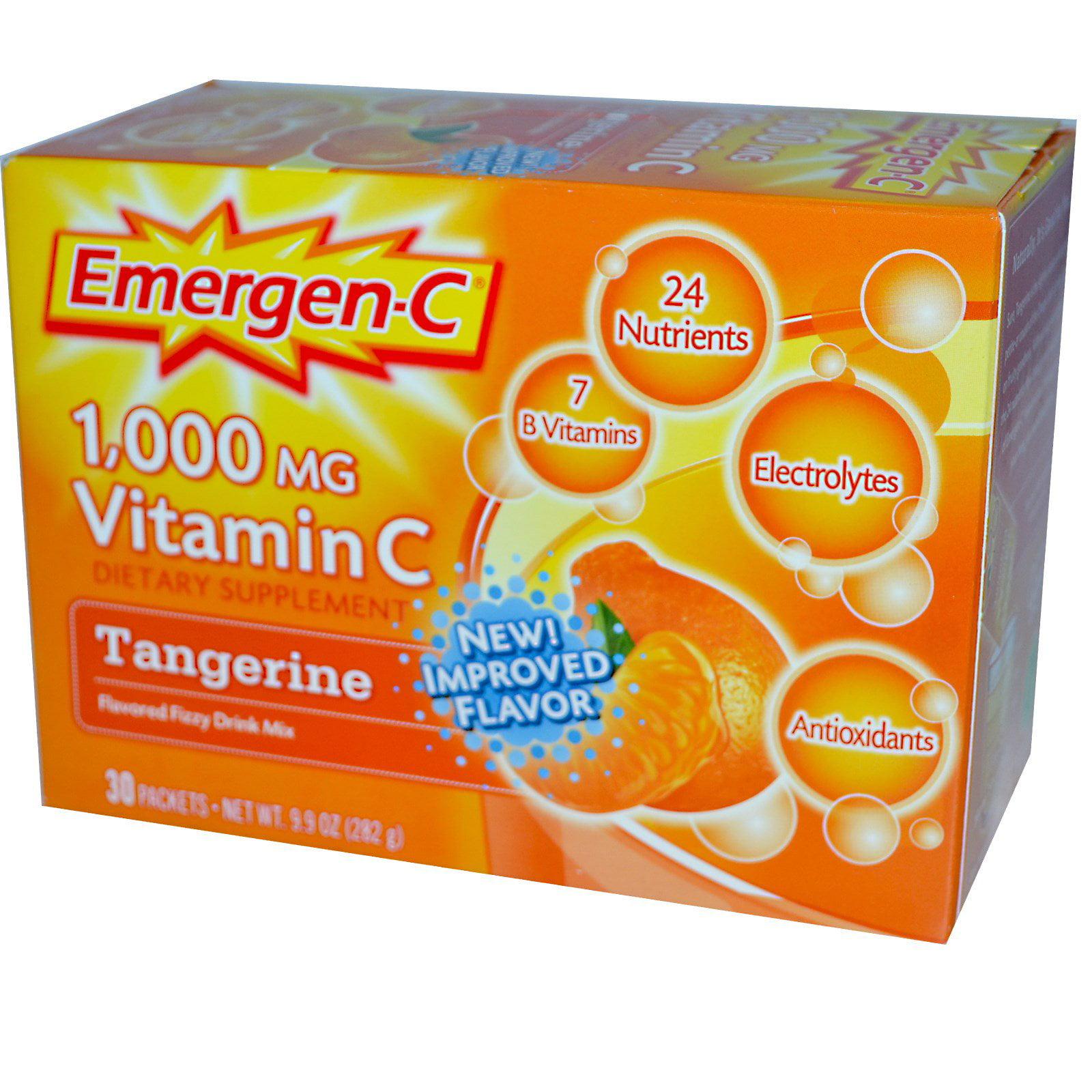 Emergen C Vitamin Supplements