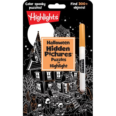 Halloween Hidden Pictures(r) Puzzles to Highlight (Paperback)](Ways To Paint Face For Halloween)