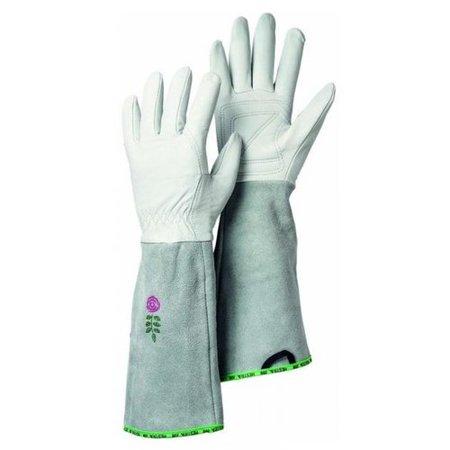 Hestra Gloves 7341002008 GARDEN ROSE LADIES GLOVES OFF WHITE SIZE MED - Quantity 1 ()