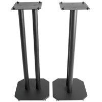 "VIVO Universal 25"" Steel Floor Speaker Stands for Surround Sound & Book Shelf Speakers (STAND-SP03B)"