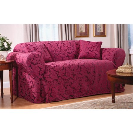 Sure Fit Scroll Classic Fit Sofa Slipcover