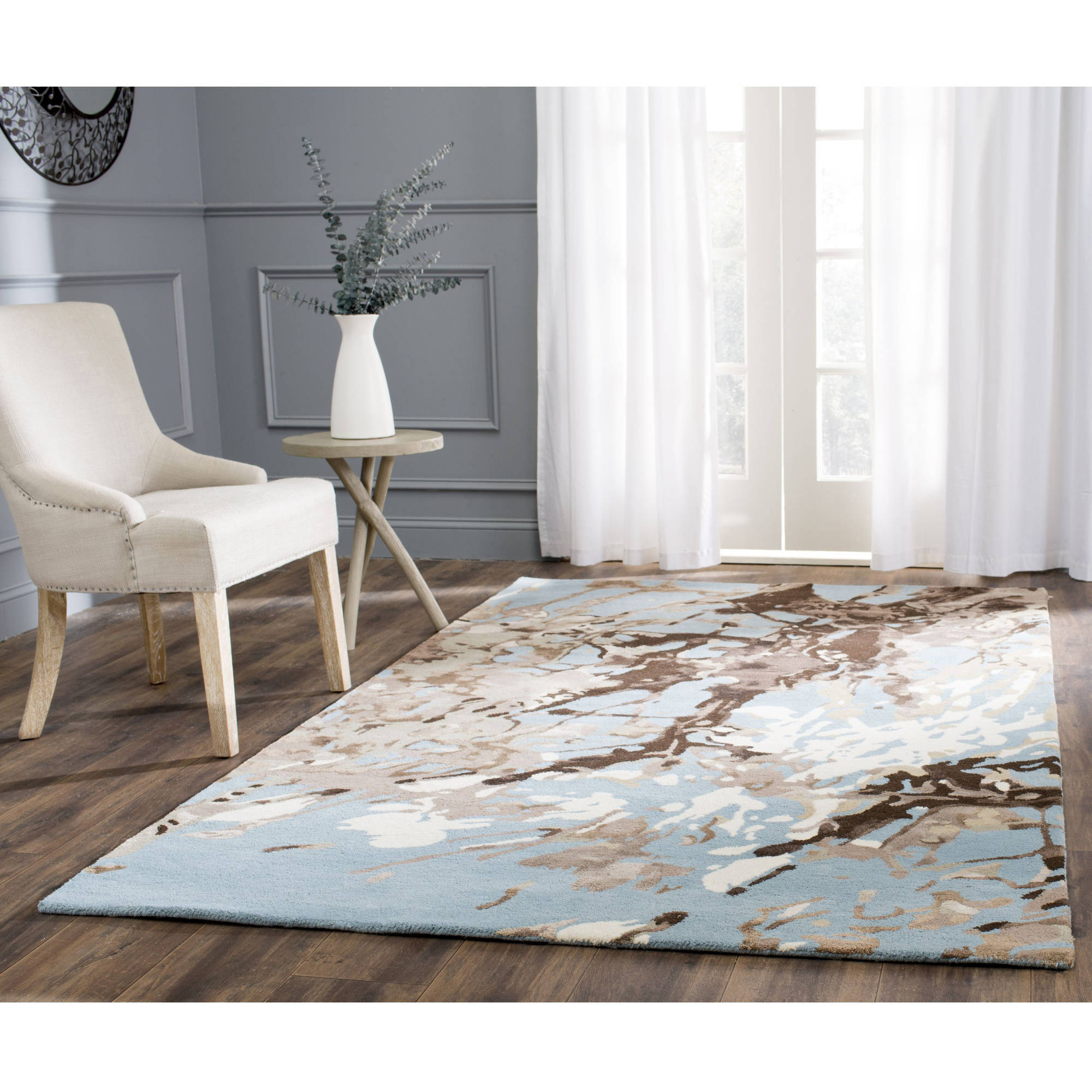 Safavieh Soho Ace Abstract Wool Area Rug