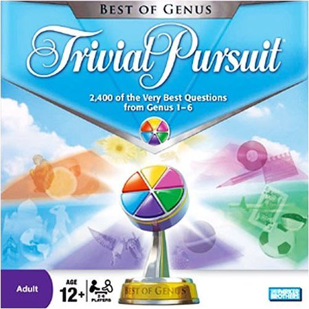 Trivial Pursuit Best of Genus Edition Board Game (Best Games For Five Year Olds)