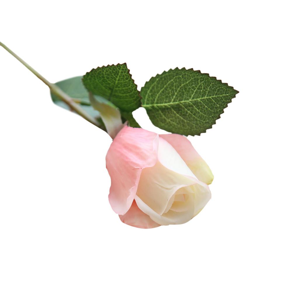 Mosunx 6 Pcs Pretty DIY Artificial Silk Fake Flowers Rose Floral Wedding Home Decor