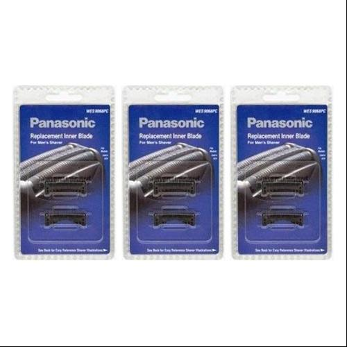 Panasonic WES9068PC Replacement Inner Blade For Men's Shaver Models ES8101 / ESLA63S / ES8249 3 Pack