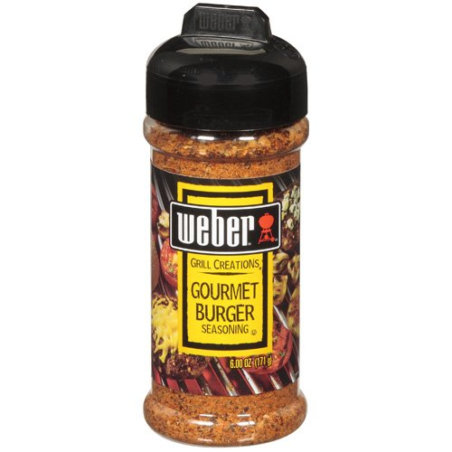 Weber Grill Creations Gourmet Burger Seasoning, 6 oz