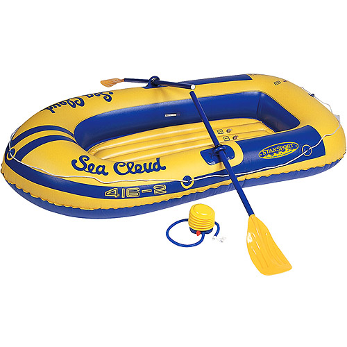Stansport 2-Person Boat with Pump and Oars