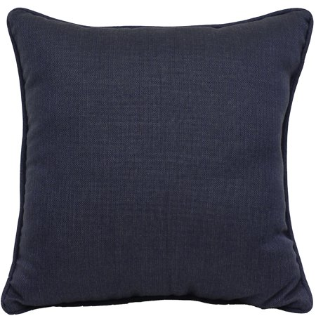 Better Homes and Gardens Colton Navy Toss Pillow - Set of 2 18 inch x 18 inch - Navy Pillow