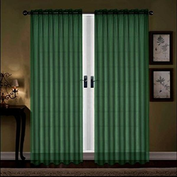 Hunter Green Curtains Window Treatments Amazon Curtains and Window Tr