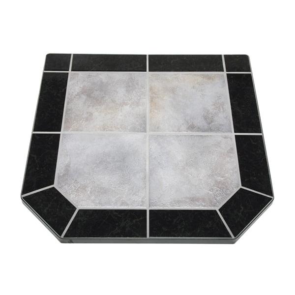 "Night Shadows Tile Double Cut Stove Board, 40"" X 40"""