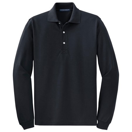 051be188b Port Authority - Port Authority Men s Big And Tall Long Sleeve Polo Shirt -  Walmart.com