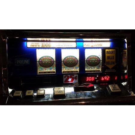 - LAMINATED POSTER Jackpot Luck Lucky Gamble Win Slot Machines Poster Print 24 x 36