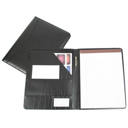 Leather Travel Leather Writing Padfolio Document Organizer Leather Travel Agenda