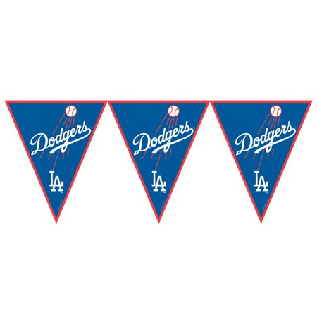 Dodgers Baseball Sports Theme Party Decorations & - Dodgers Party Supplies