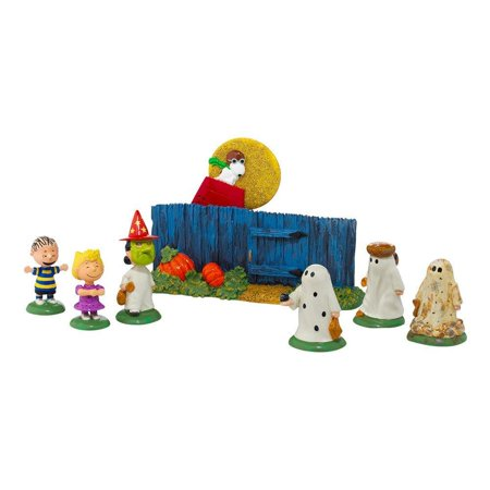 department 56 peanuts the great pumpkin is coming figurine, 0 - Snoopy Great Pumpkin