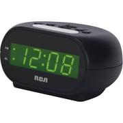 "RCD20 Alarm Clock with .7"" Green Display"