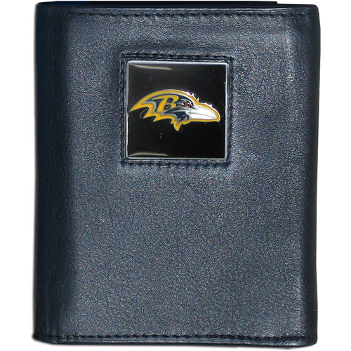 NFL - Executive Tri-Fold Wallet in Collector's Tin, Baltimore Ravens