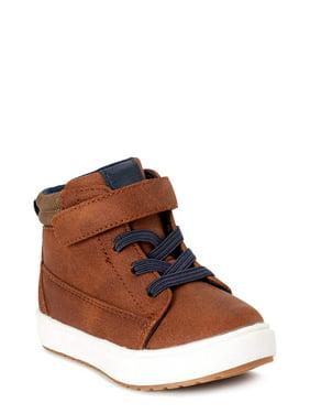 Wonder Nation Casual High Top Sneaker (Toddler Boys)