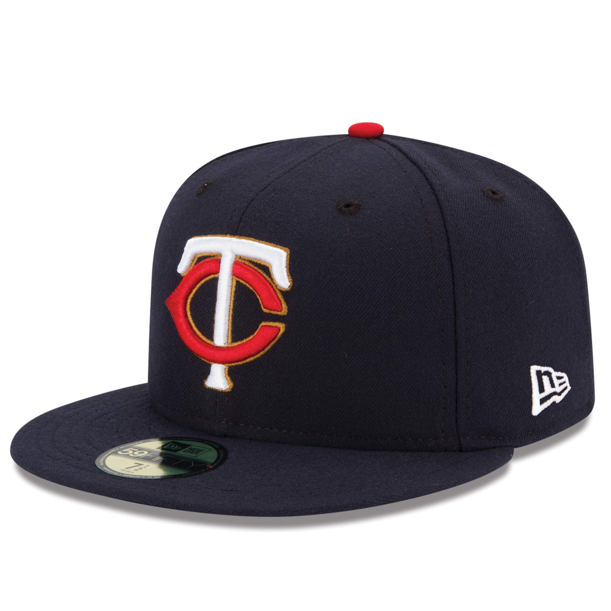 Minnesota Twins New Era Alternate Authentic Collection On-Field 59FIFTY Fitted Hat - Navy