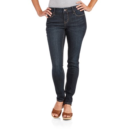 Faded Glory Women's Core Skinny Jeans available in Regular and Petite