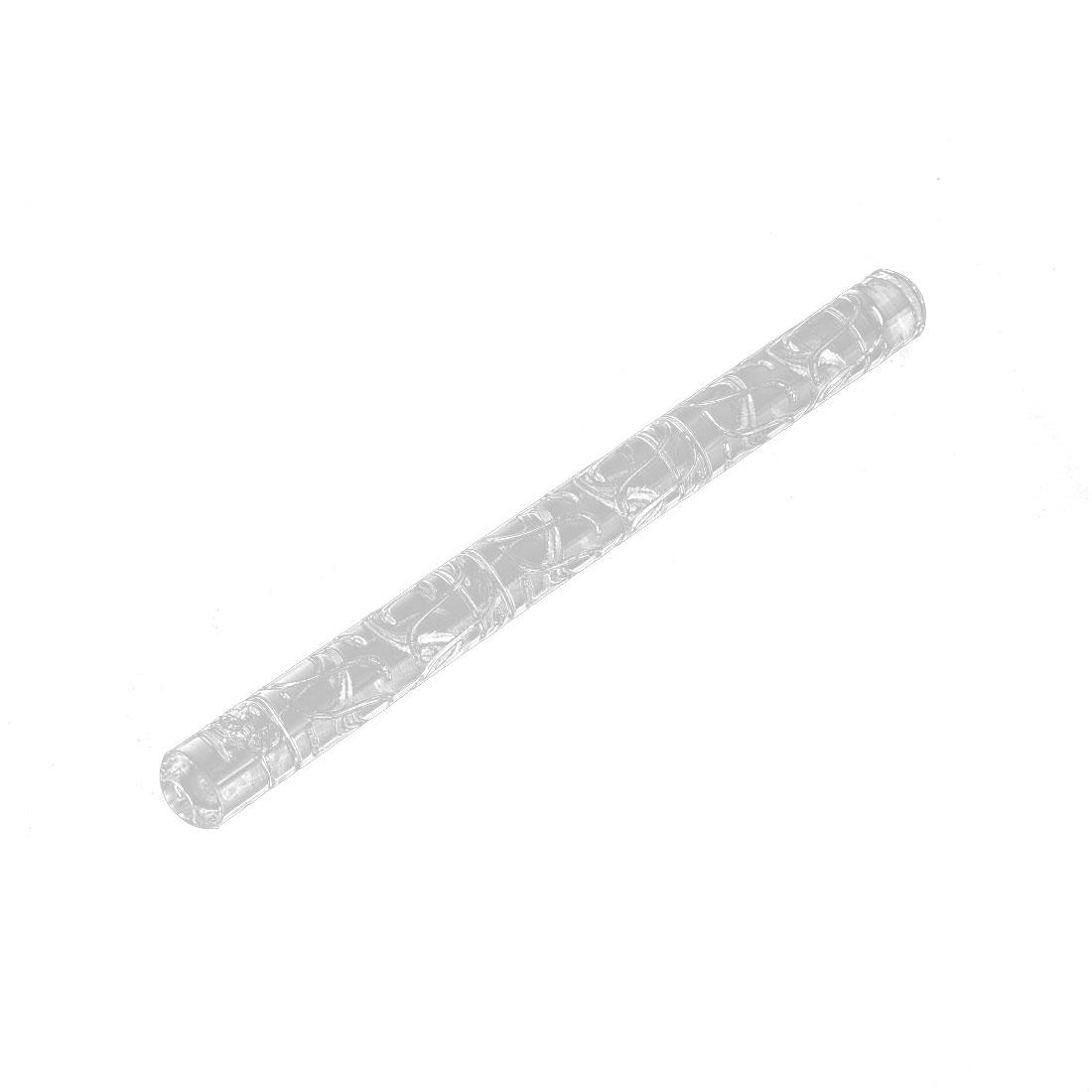 Unique Bargains Non-stick Curve Pattern Cookie Biscuit Maker Fondant Roller Rolling Pin