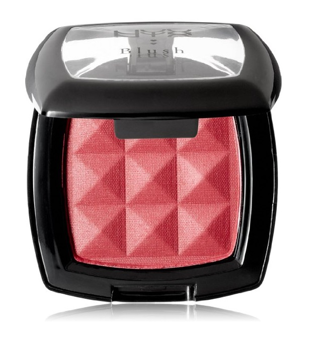 NYX Cosmetics Powder Blush, Desert Rose, 0.14 Ounce + Facial Hair Remover Spring