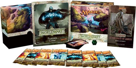 Magic The Gathering Worldwake Fat Pack by
