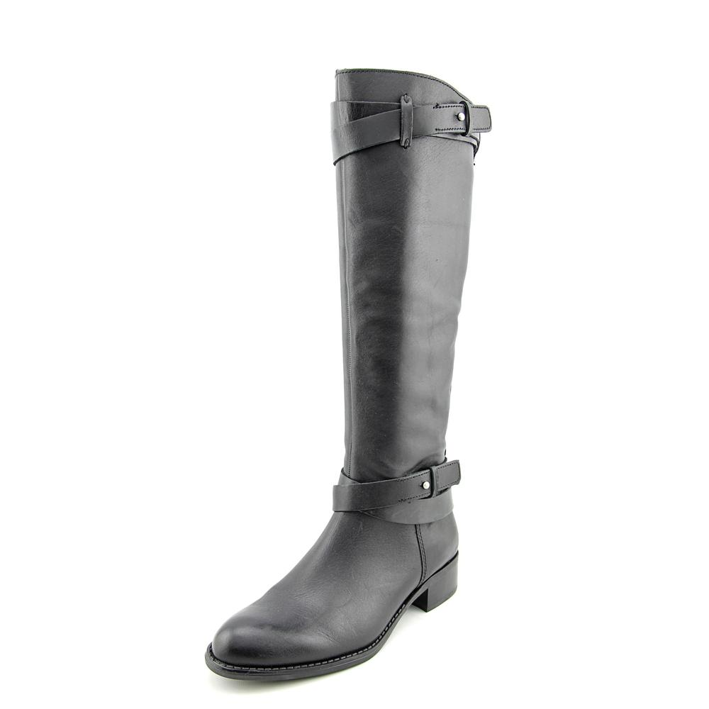 Franco Sarto Canary Round Toe Leather Knee High Boot by Franco Sarto