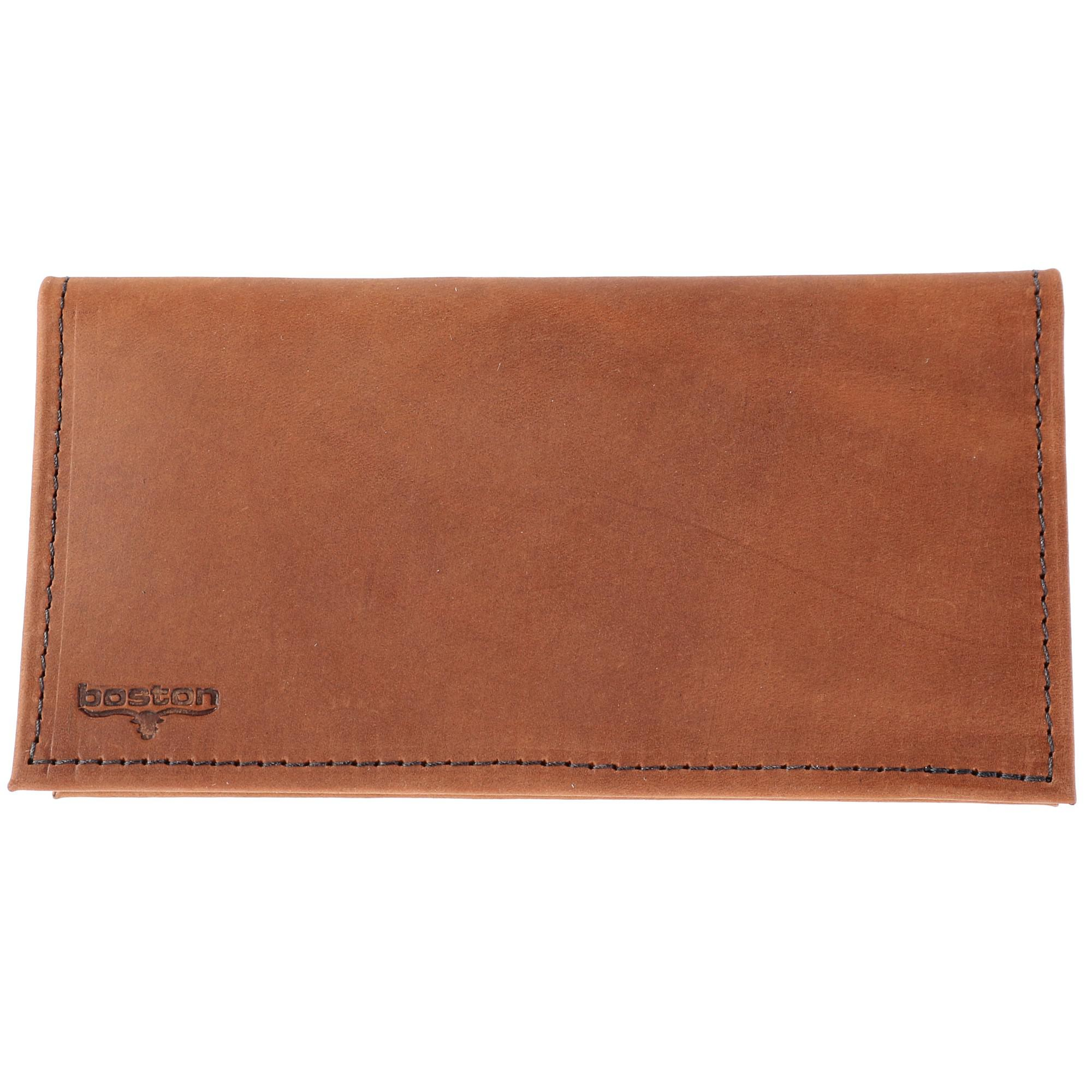 Boston Leather Multi Leather Checkbook Cover Set (Pack of 3) - image 3 of 6