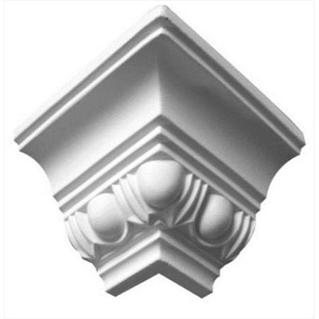American Pro Decor 5APD10052 2.75 in. Egg And Dart Crown Moulding Outside