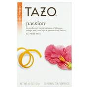 (3 Boxes) Tazo Passion Tea bags Herbal tea 20ct