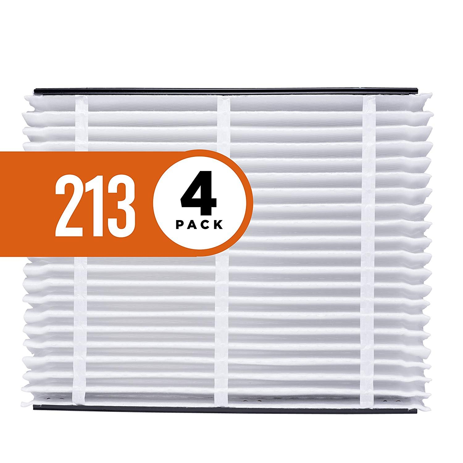 Aprilaire 213 Air Filter for Aprilaire Whole Home Air Purifiers, MERV 13 (Pack of 4)