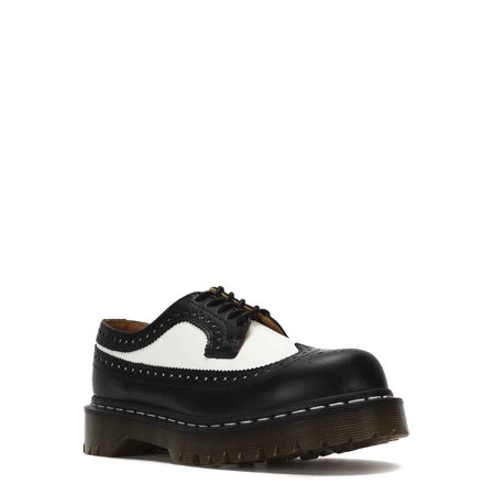 Dr. Martens 3989 BEX Brogue Shoes 10458001 Black/White ()